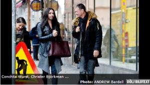 Conchita in Stockholm