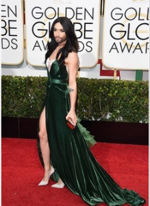 Conchita Showing some Leg on the Red carpet. Photo : Twitter