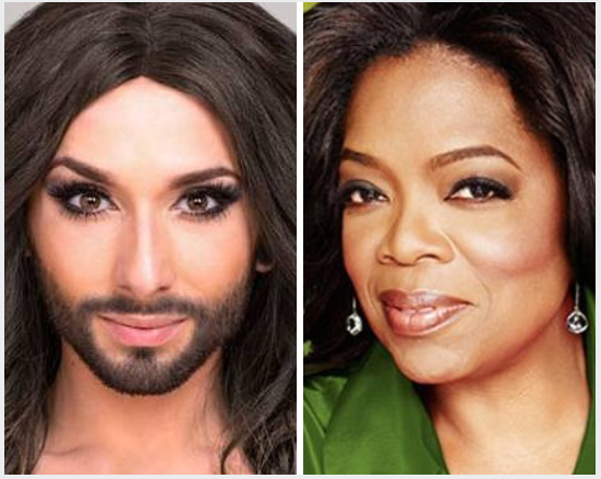 Conchita Takes On Oprah