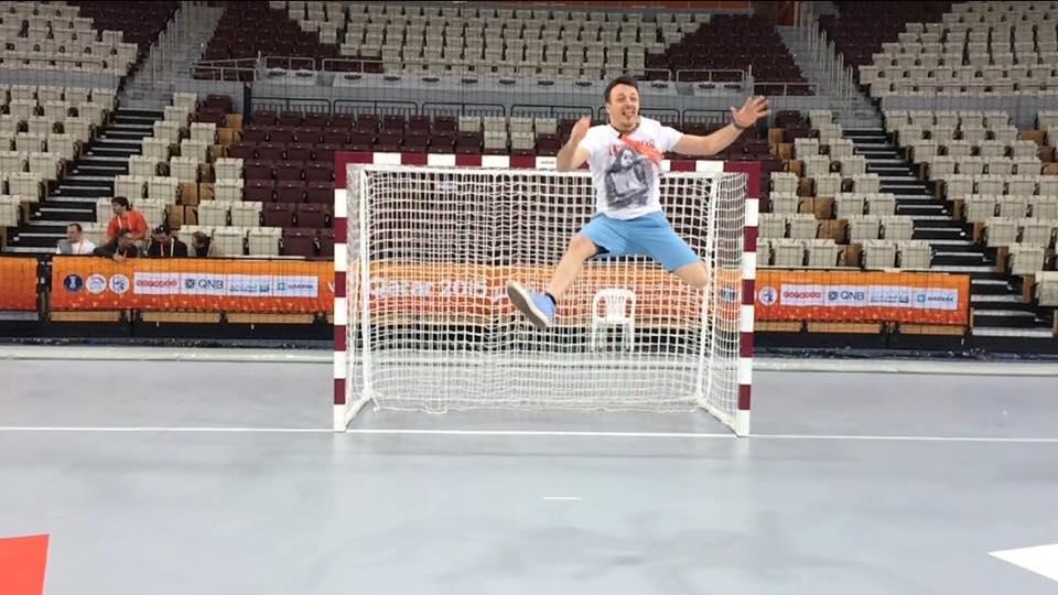 Danijel Kajmakoski - Handball World Cup. Photo : Facebook