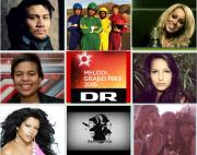 Dansk Melodi Grand Prix 2015 Contestants. Photo : Eurovision Ireland