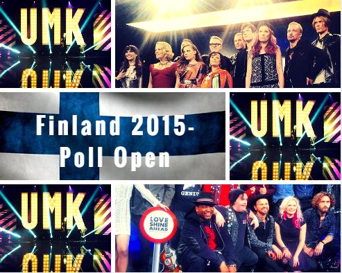 Finland 2015 Poll Open. Photo : Eurovision Ireland