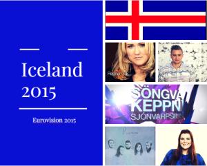 Iceland 2015 Selection. Photo : Eurovision Ireland