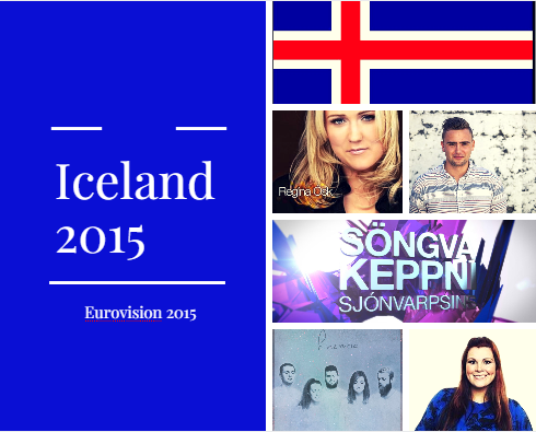Iceland 2015 Selection. Photo : Eurovision Ireland