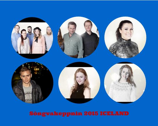 Iceland Semifinal 1 - 2015. Photo : Eurovision Ireland