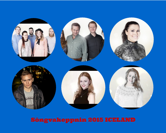 Iceland Semifinal 1 - 2015. Photo : Eurovision Ireland