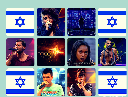 Israel 2015 Top 7. Photo : Eurovision Ireland