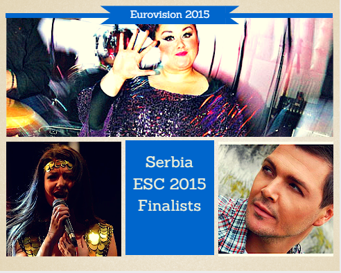 Serbia Eurovision 2015 Finalists. Photo : Eurovision Ireland