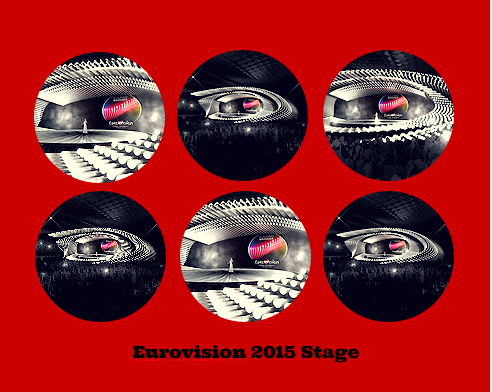 Eurovision Stage for 2015. Photos : ORF