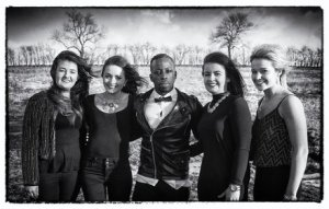 Alex Saint and the MJ's. Photo : RTE