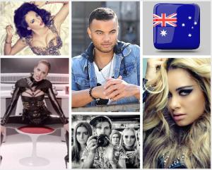 Australian Potential Singers for Eurovision 2015