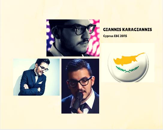 Cyprus Eurovision 2015 Contestant.