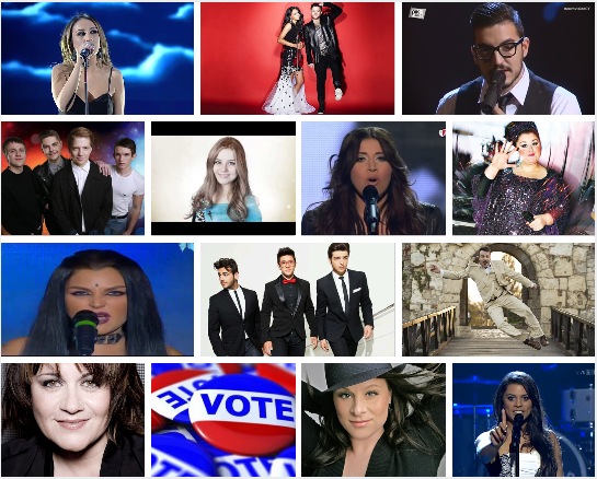 Poll - 13 Songs selected for Eurovision 2015. What is your favourite so far?