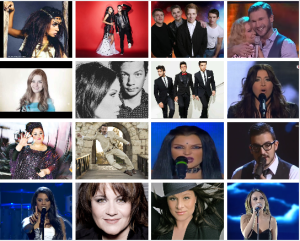 The 16 confirmed songs for Eurovision 2015. What is your favourite so far?