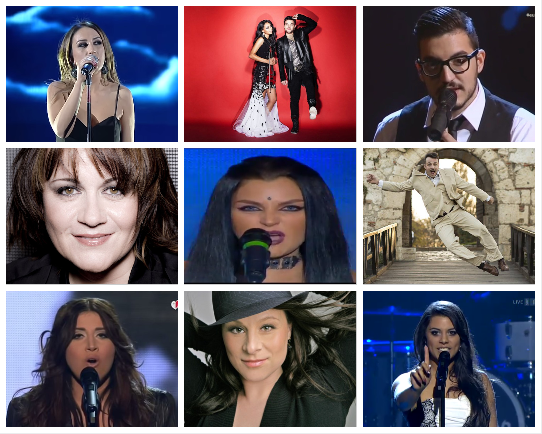 POLL : 9 Song selected for Eurovision 2015 so far. What is your favourite?