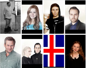 Iceland Eurovision 2015 Selection Finalists