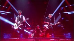 Neverstone at Melodifestivalen 2015. Photo : SVT