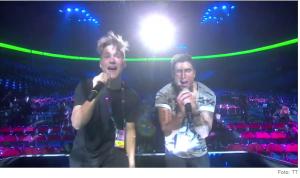 SAMIR & VIKTOR at Melodifestivalen 2015 Photo : SVT