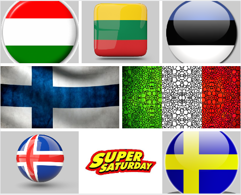 Super Saturday Eurovision Viewing Details