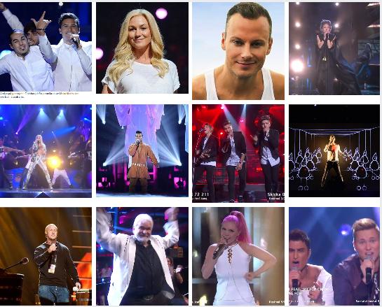 12 Melodifestivalen Finalists