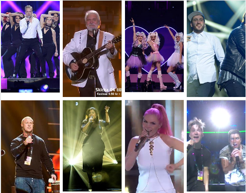 Andra Chansen Duels for Melodifestivalen 2015