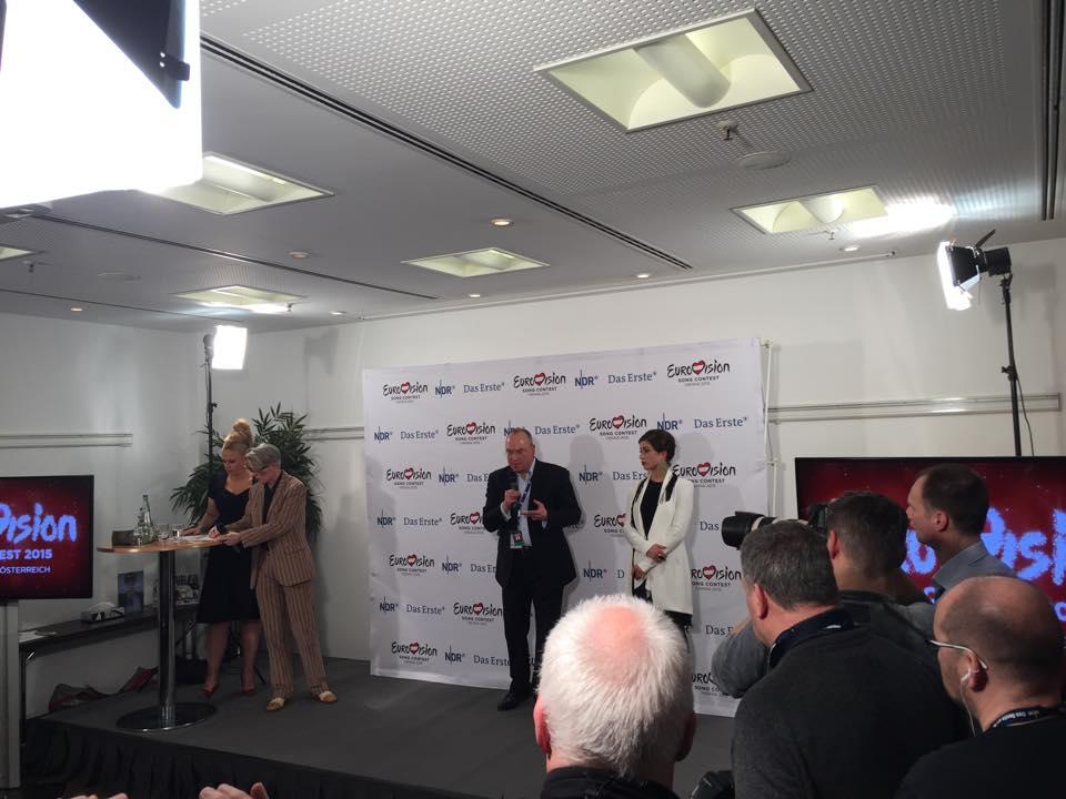 Ann Sophie declared the winner in Germany by Thomas Schreiber. Photo: Ewan Spence http://www.escinsight.com/