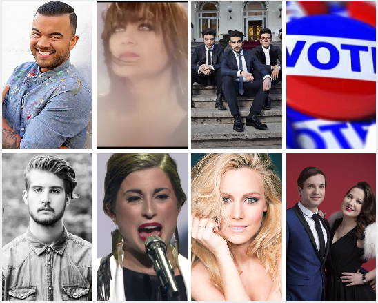 Who is your Favourite of the Big 7 at Eurovision 2015?