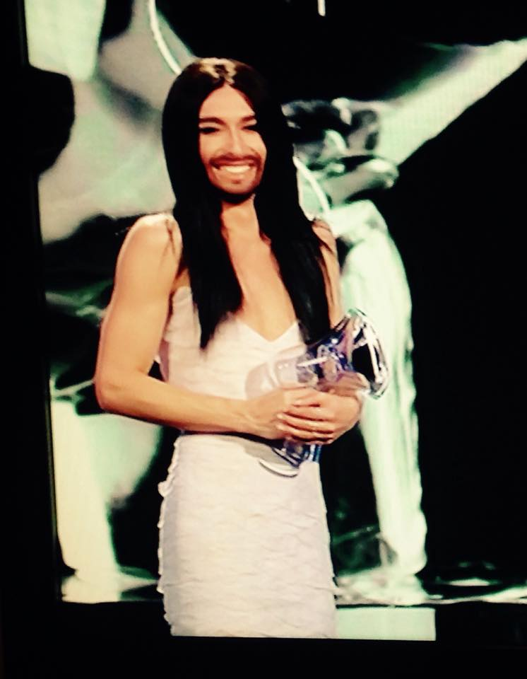 Conchita Wins Austria Amadeus Music Awards. Photo : ORF