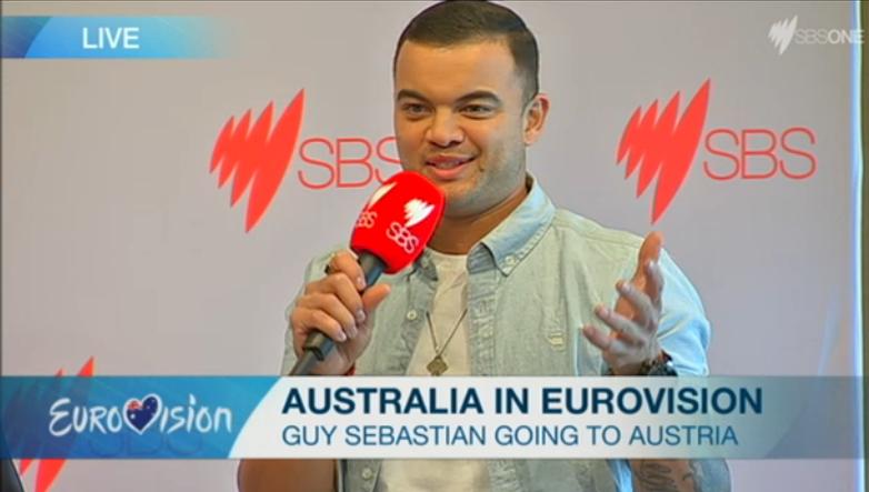 Guy Sebastian for Eurovision 2015
