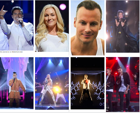Melodifestivalen Direct To Final Singers