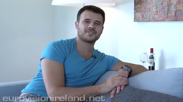 Eurovision Ireland Interviews Emin. Photo : Eurovision Ireland