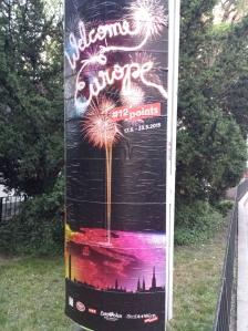 Welcome to Vienna, Europe! Photo: Eurovision Ireland