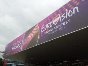 Wiener Stadhalle - Host Venue for Eurovision 2015 Photo: Eurovision Ireland