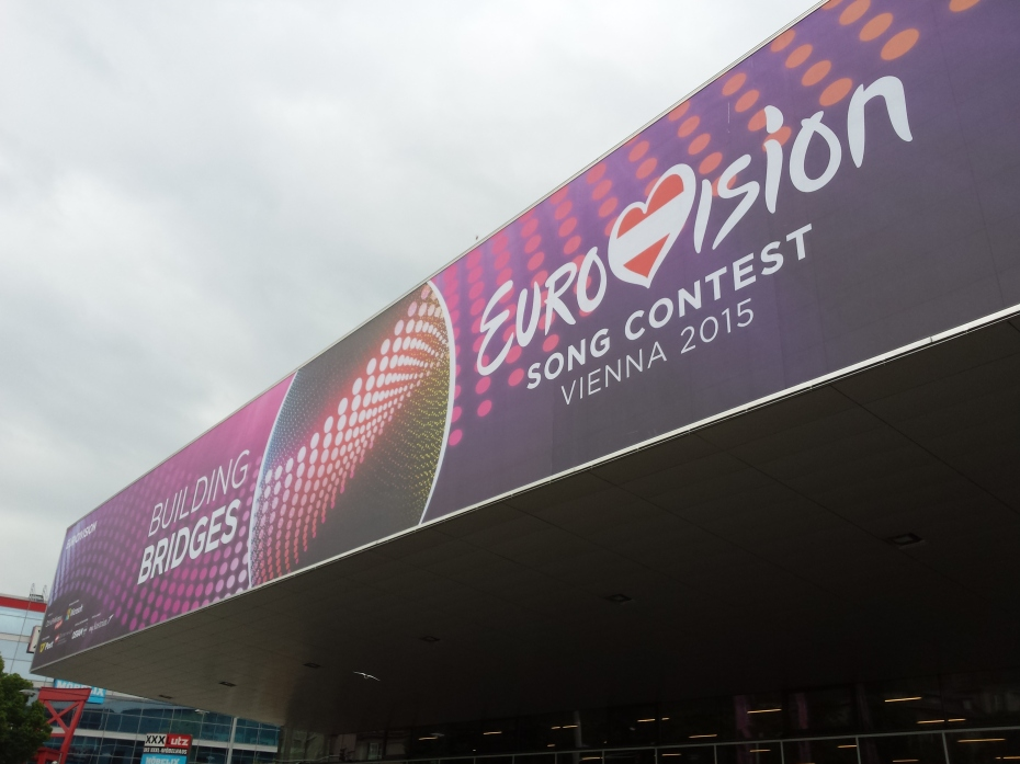 Wiener Stadhalle - Host Venue for Eurovision 2015 Photo: Eurovision Ireland