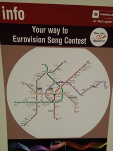 Your guide to getting around Vienna for Eurovision! Photo: Eurovision Ireland