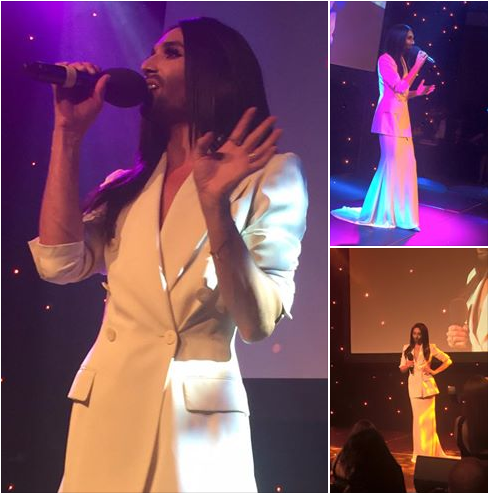 Conchita at the Icon Awards