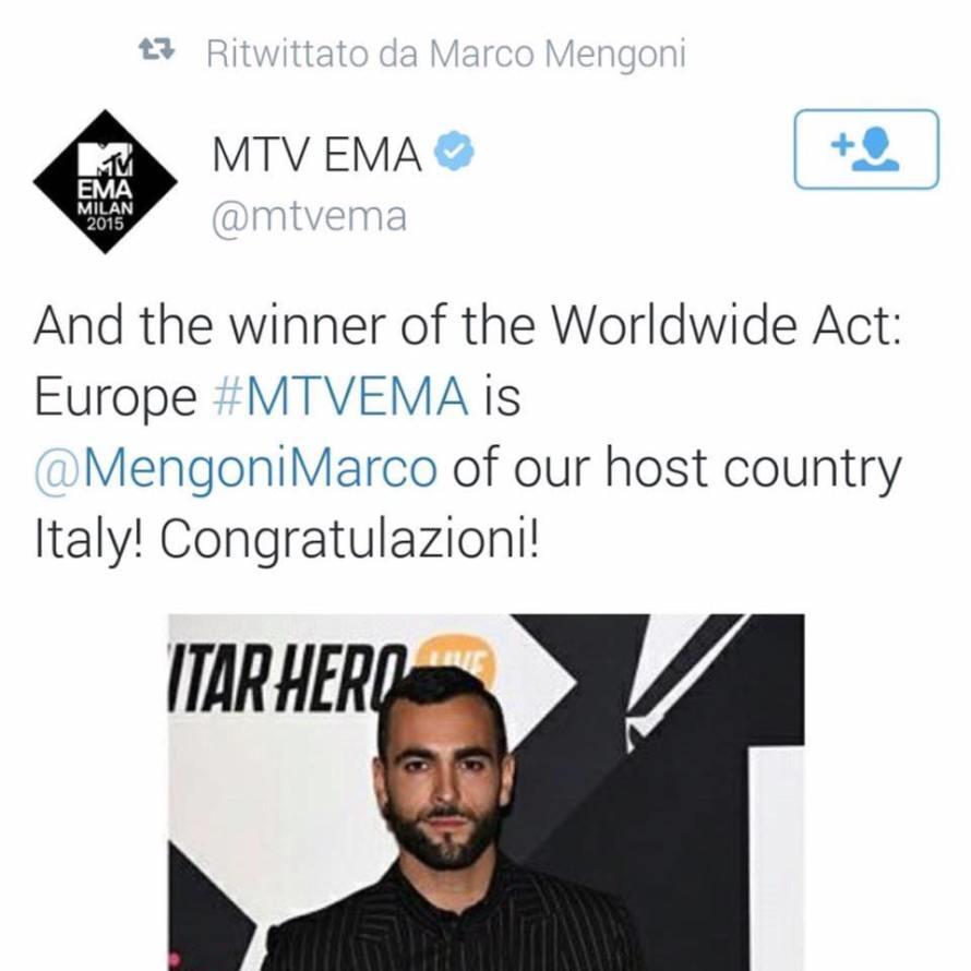 marco wins MTV