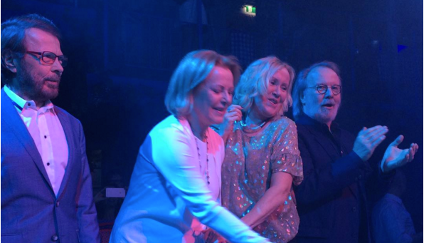 Forget about Kim Kardashian breaking the internet ABBA are well capable of doing that and with a lot more style! Reunion rumors stormed the interner!