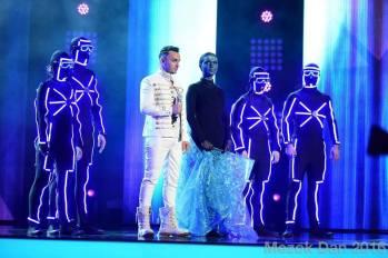 Mihai on stage
