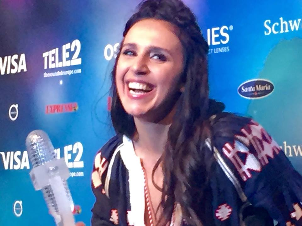 Jamala Wins Eurovision - Photo : Eurovision Ireland