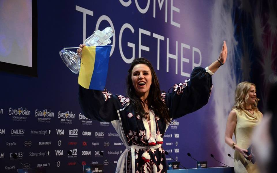 Jamala Wins Eurovision. Photo : Eurovision Ireland