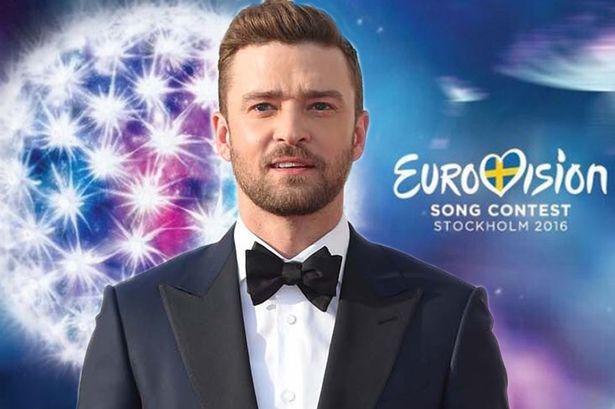Resultado de imagem para justin timberlake eurovision
