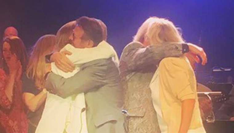 Abba Reunite for 50th Celebrations. Image from Per Sundin Instagramkonto @perurban