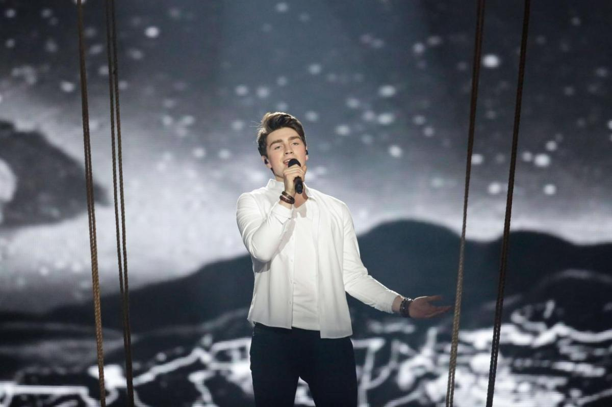 #IRELAND: Brendan Murray Makes X-Factor Live Shows