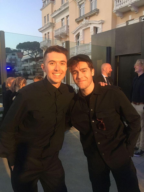Ryan and Benjamin